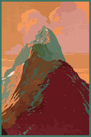 Travel poster background