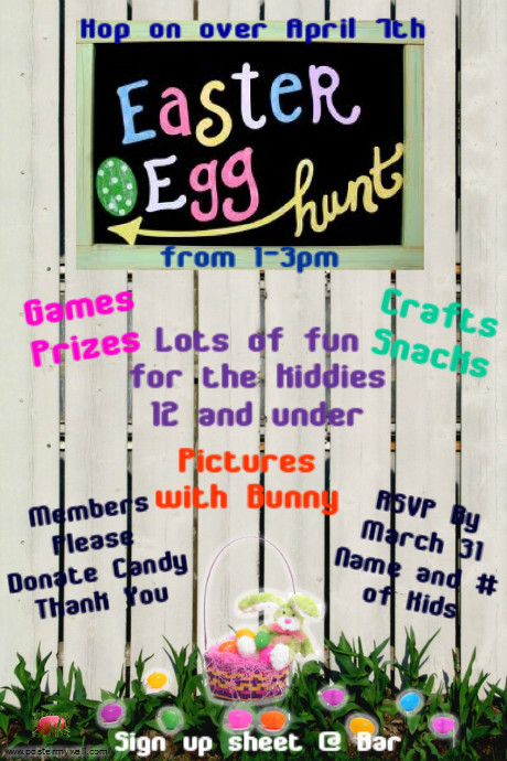 easter flyer