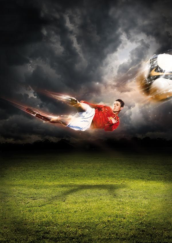 Custom Soccer Poster Design Inspiration
