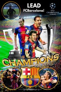 FCBarcelona Poster