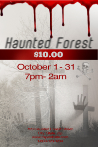 Haunted Forest Template