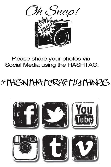 Social Media Hashtag Flyer template | PosterMyWall