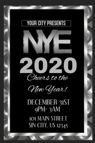 New Years Eve Event Tenplate