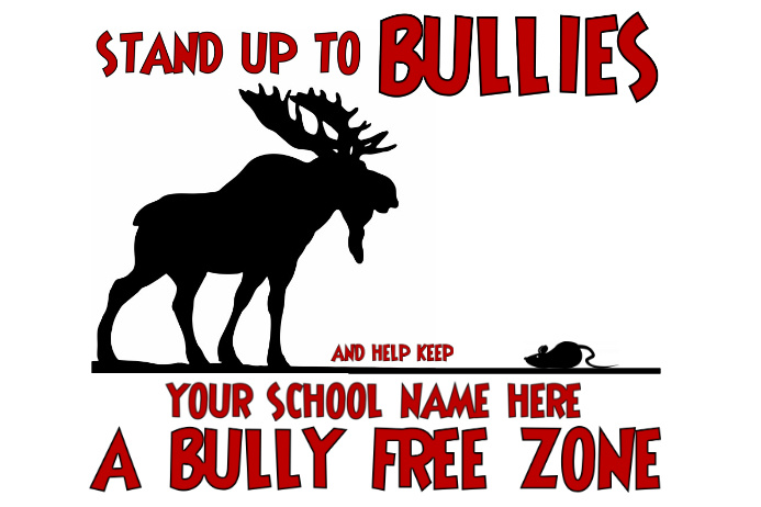stand up to bullies template postermywall. Black Bedroom Furniture Sets. Home Design Ideas