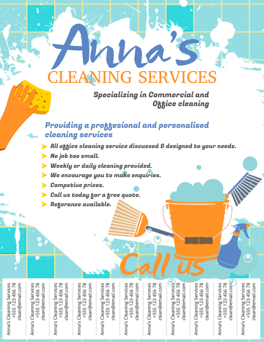 cleaning brochure templates free - house cleaning services flyer templates