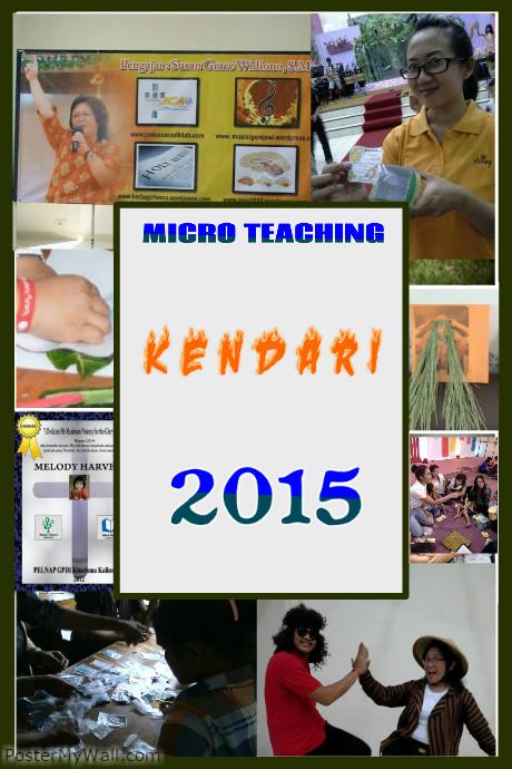 MICRO TEACHING KENDARI 2015