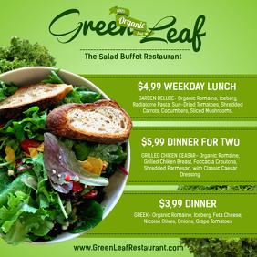 Salad Facebook Shared Image Template