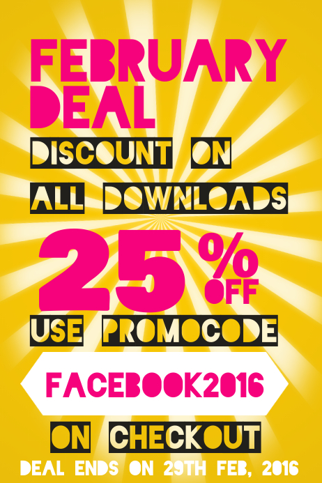 Discount Promotion Poster Template | PosterMyWall