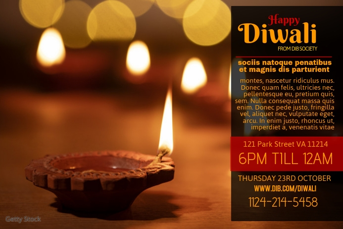 Postermywall Diwali