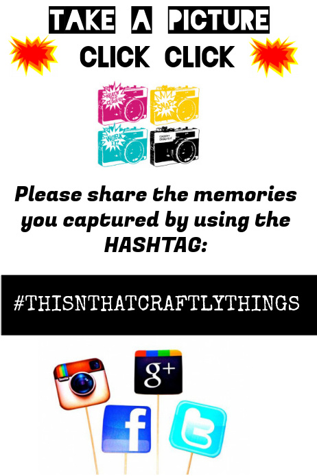 Hashtag - Social Media Flyer template | PosterMyWall