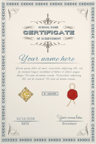 School diploma template - PosterMyWall