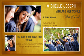 graduation photo collage template