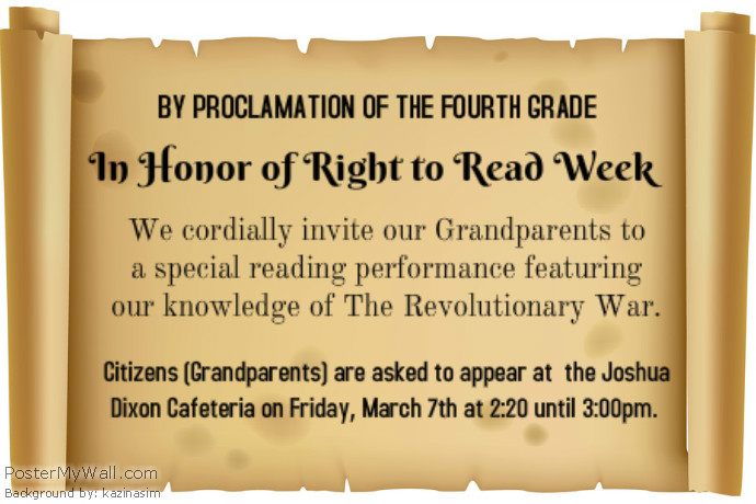 4th Grade Right to Read