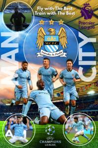 Man City Poster