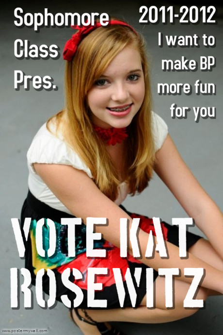 school election poster idea
