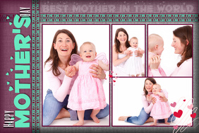 mother's day collage template