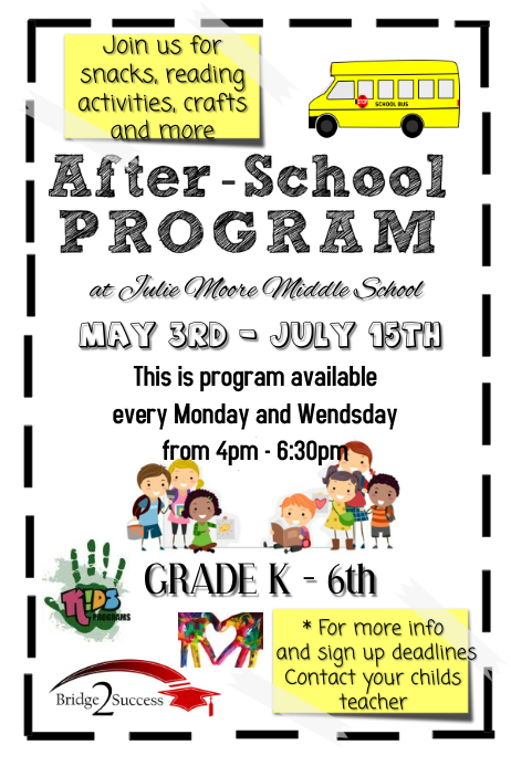 After School Program Summer Day Camp Template Postermywall