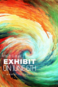 Artsy Culture Hurricane Spiral Rainbow Storm Tropical Event