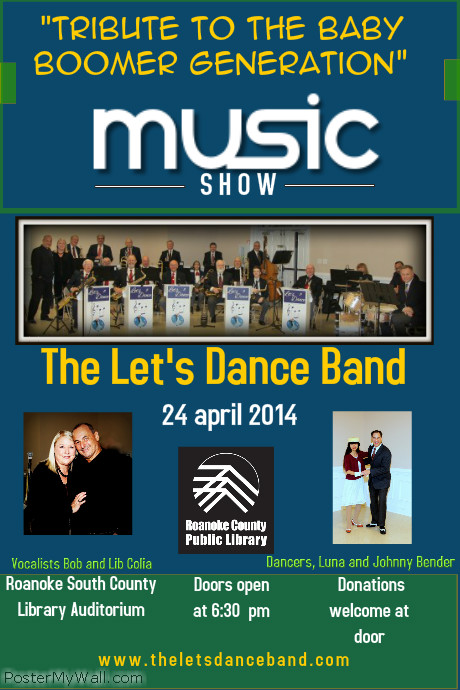 The Let\'s Dance Band - Tribute to the Baby Boomer Generation