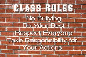 classroom poster idea