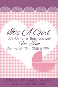 customizable design templates for baby shower postermywall
