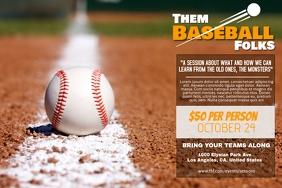 Baseball Poster Template