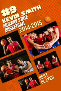 Basketball Custom Poster Template