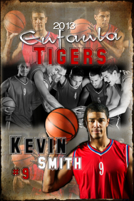 Basketball team poster