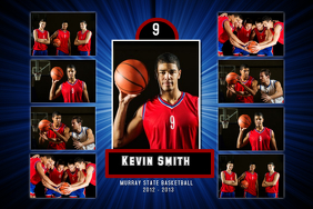 Baskeball Poster Template