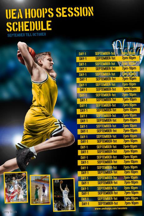 sports team schedule maker