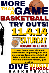 Basketball Tryout