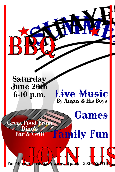 Barbecue Poster Templates Postermywall.Barbecue Poster ...