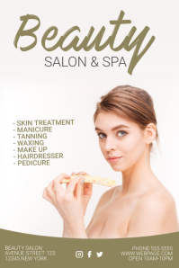 Customizable Design Templates For Beauty Salon Postermywall