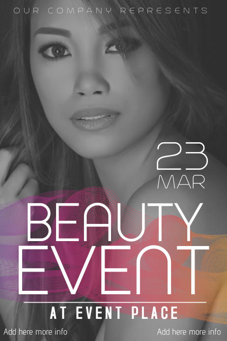 beauty salon or fashion flyer template | PosterMyWall