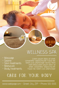 Customizable Design Templates for Massage Flyer | PosterMyWall