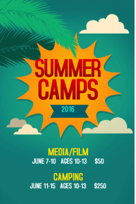 Customizable Design Templates For Summer Camp Postermywall
