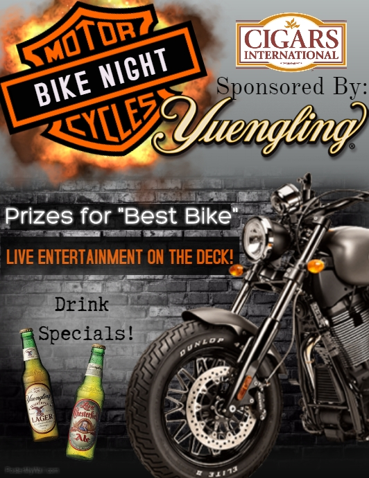 Bike Night Flyer template : PosterMyWall