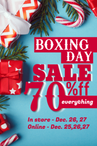 Sample Boxing Day Retail