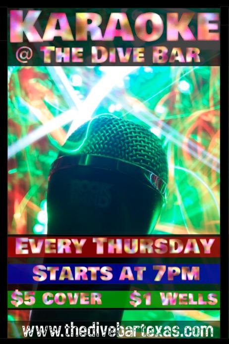 Postermywall Karaoke Posters