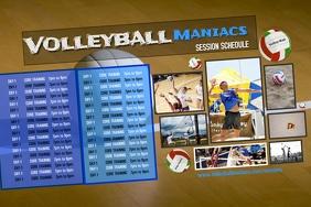 Sports team schedule template