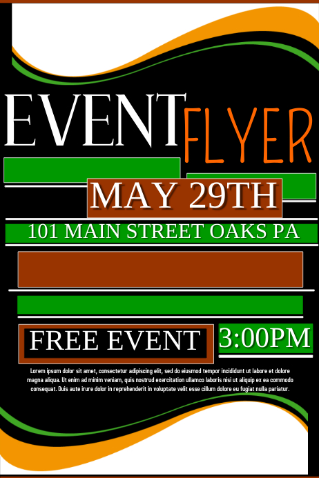 Event Flyer template | PosterMyWall