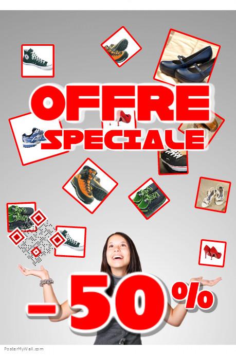 Postermywall mod le d 39 affiche d 39 annonce de r duction a4 for Annonce modele photo