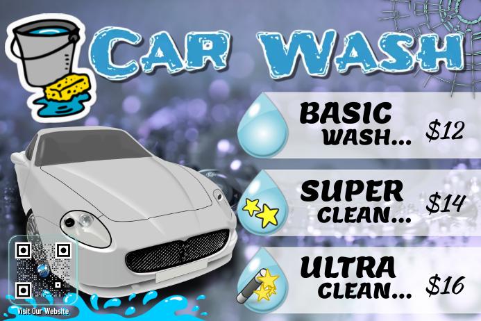 Car Wash Flyer Template Free Idealstalist