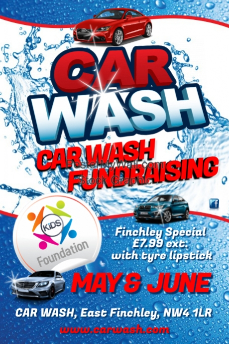 Car wash flyer template postermywall for Car wash poster template free