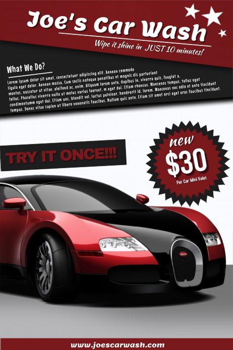 Used Car Dealership Flyers