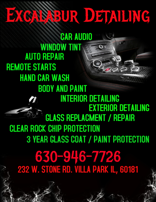 car wash template postermywall. Black Bedroom Furniture Sets. Home Design Ideas