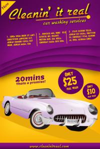 Sample Car Wash Flyers
