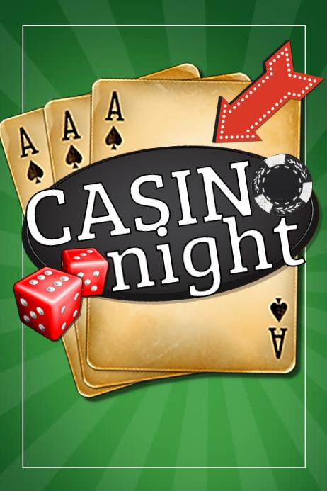 Casino Night Flyer Blank Template Online Casino Portal
