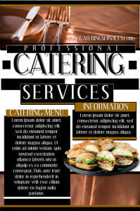 Catering Brochure Template Pages By Owpictures Graphicriver - Catering brochure templates