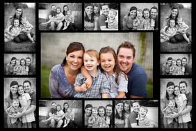 Sample Family Collages